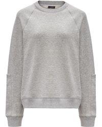 JOSEPH - Molleton Jersey Sweatshirt - Lyst