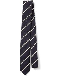 JOSEPH - Silk Stripes Tie - Lyst