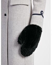 JOSEPH Rex Fur Gloves