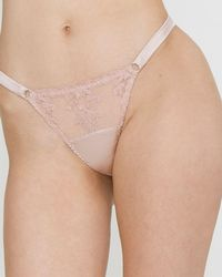 Fleur Of England - Affection Thong - Lyst