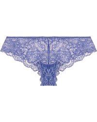Montelle - Lace Brazilian Panty - Lyst