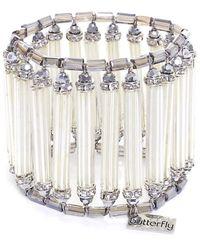 Butterfly - Glacier Cuff Bracelet - Lyst