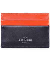 Ettinger - Calf Leather Sterling Billfold Wallet - Lyst