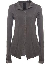 Rundholz - Mesh Jersey Jacket - Lyst