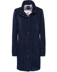 Creenstone - 3/4 Zip Collar Coat - Lyst
