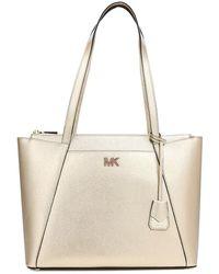 MICHAEL Michael Kors - Metallic Maddie Medium Tote Bag - Lyst