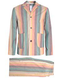 Paul Smith - Artist Striped Pyjama Set - Lyst