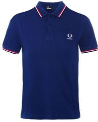 Fred Perry - Twin Tipped France Polo Shirt - Lyst