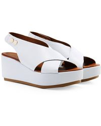 Inuovo - Crossover Slingback Sandals - Lyst