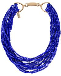 Butterfly   Multi Strand Chelsea Harbour Necklace   Lyst