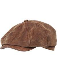 Stetson - Burney Pig Skin Cap - Lyst