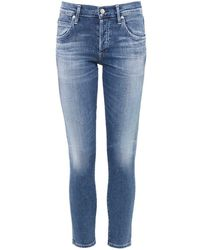 Citizens of Humanity | Mid Rise Elsa Cropped Jeans | Lyst