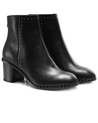 Rag & Bone - Leather Willow Stud Boots - Lyst
