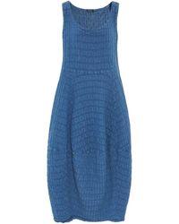 Grizas - Linen Textured Dress - Lyst
