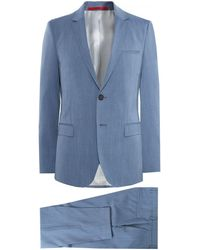 HUGO | Extra Slim Fit Virgin Wool Arti/hesten 182 Suit | Lyst