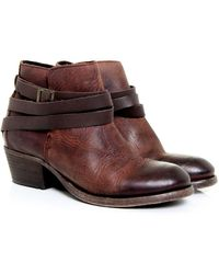 H by Hudson - Horrigan Calf Leather Boots - Lyst