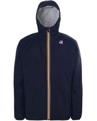 K-Way - Water Resistant Le Vrai 3.0 Claude Orsetto Jacket - Lyst