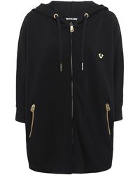 True Religion | Hooded Poncho Jacket | Lyst