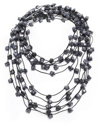 Jianhui   Ceramic Bead Necklace   Lyst
