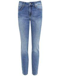 NYDJ - Light Wash Alina Ankle Jeans - Lyst
