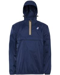 K-Way - Water Resistant Half-zip Le Vrai Leon 3.0 Jacket - Lyst