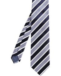 Eton of Sweden - Striped Silk Tie - Lyst
