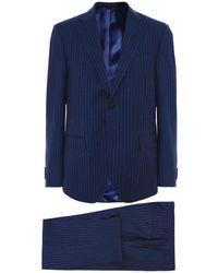 Corneliani - Virgin Wool Pinstripe Suit - Lyst