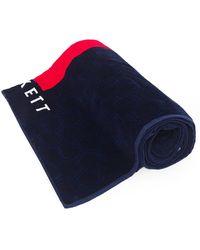 Hackett | Cotton Tessellated Pattern Beach Towel | Lyst