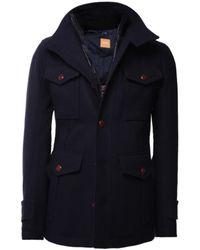 BOSS Orange - Orfey Wool Coat - Lyst