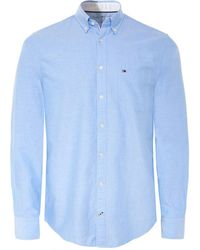 Tommy Hilfiger - Regular Fit Engineered Oxford Shirt - Lyst