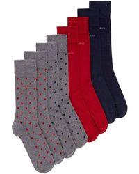 BOSS - Four Pack Of Socks - Lyst