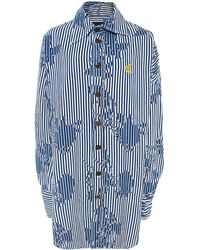 Vivienne Westwood Anglomania - Chaos Shirt Dress - Lyst
