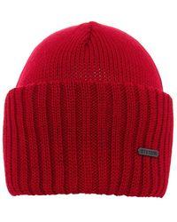 Stetson - Merino Wool Beanie Hat - Lyst