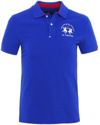 La Martina - Slim Fit Pique Quirino Polo Shirt - Lyst