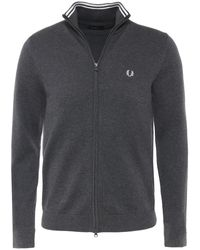 Fred Perry - Classic Zip-through Cardigan - Lyst