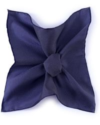 Jules B - Dotted Silk Pocket Square - Lyst