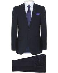 Hackett - Plain Wool Suit - Lyst