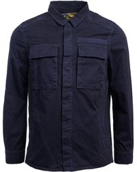 Barbour - Cotton Command Overshirt - Lyst