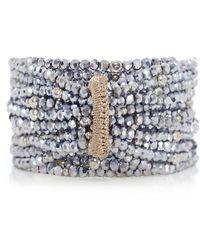 Butterfly | Bead Multi Strand Bracelet | Lyst