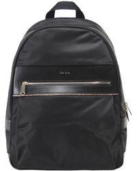 Paul Smith - Signature Stripe Trim Backpack - Lyst