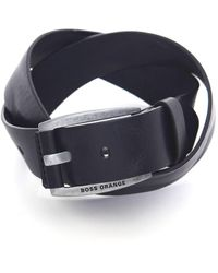 BOSS - Bakaba Leather Belt - Lyst