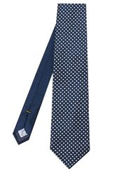Eton of Sweden - Silk Micro Heart Tie - Lyst