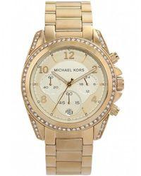 MICHAEL Michael Kors - Crystal Runway Michael Kors Watch Mk5166 - Lyst