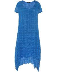 Grizas - Silk Double Hem Dress - Lyst