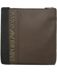 Armani - Small Flat Messenger Bag - Lyst