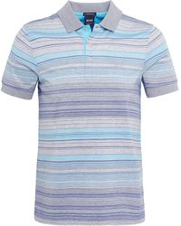 BOSS - Regular Fit Striped Paddy 3 Polo Shirt - Lyst