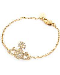 Vivienne Westwood - Grace Bas Relief Bracelet - Lyst