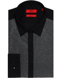 HUGO - Extra Slim Fit Easto Dress Shirt - Lyst