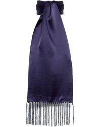 Tootal - Pin Dot Silk Scarf - Lyst
