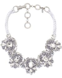Butterfly   Ice Crystal Necklace   Lyst